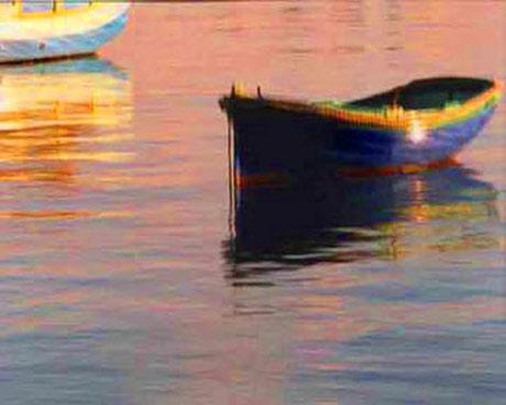 Small boats at Marsaxlokk