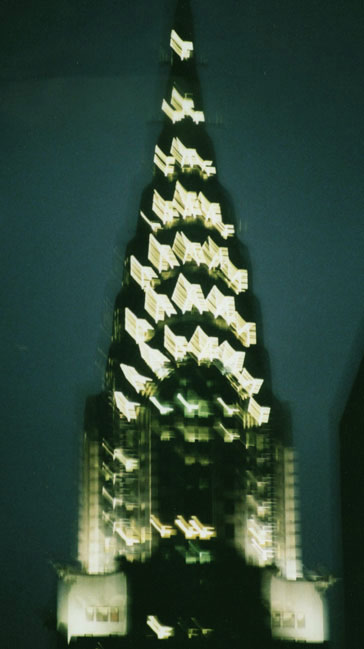 Chrysler Building, night