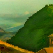 home page thumbnail Landscape with bell-tower