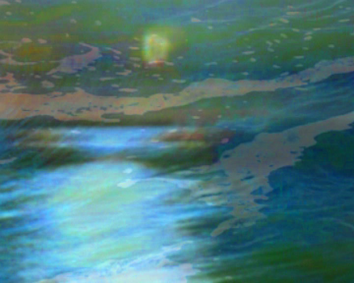Moon in Sea, video composite