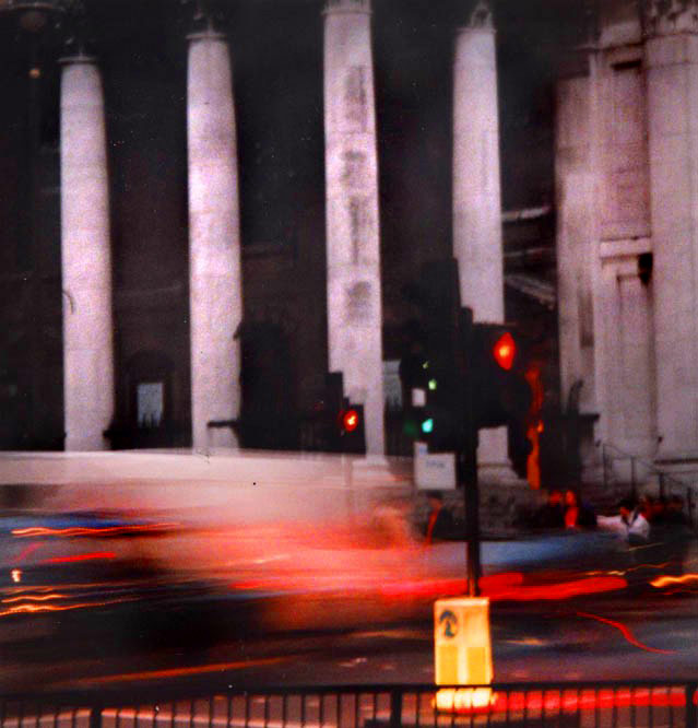 Traffic lights, City of London