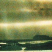 Rocks and sea, VHS image