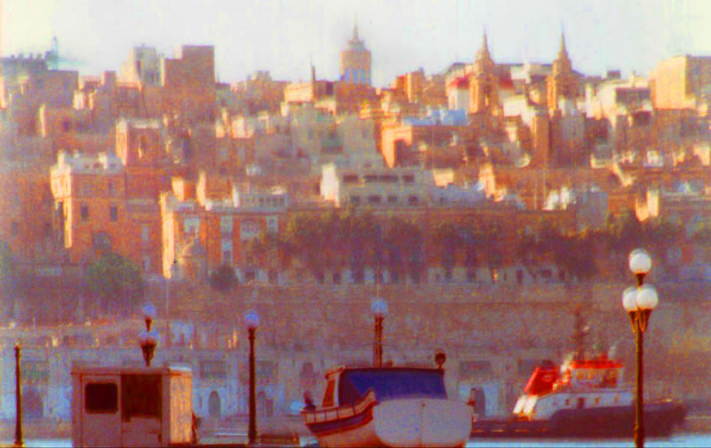 Valletta from Grand Harbour in full sun